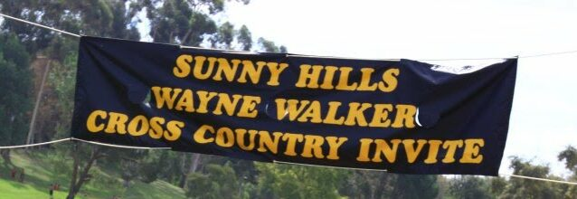 SUNNY HILLS XC INVITATIONAL | saturday SEPTEMBER 28